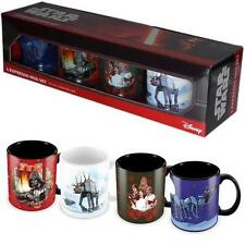 Star Wars - Christmas Espresso / Mini Mug Set - New & Official Lucasfilm In Box