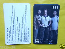 cartes telephone 1998phone cards 100 units 911 nine hundred eleven telefonkarten