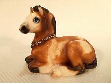WINDSTONE EDITIONS GRAB BAG UNICORN BABY STATUE FIGURINE SIGNED MELODY PENA B