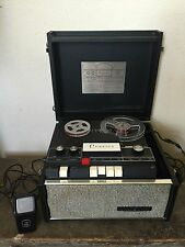 Vintage Voice of Music Reel To Reel Tape Recorder Model 725 WITH MICROPHONE