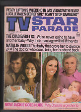 TV Star Parade Natalie Wood Jackie Onassis Lucille Ball December 1971