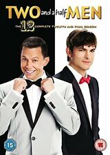 TWO AND A HALF MEN Stagione 12 Serie Completa BOX 2 DVD in Inglese NEW .cp