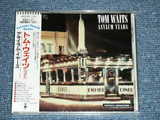 TOM WAITS Japan 1989 Brand new Sealed CD+Obi ASYLUM YEARS