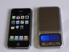 POCKET MINI DIGITAL LED SCALE iPHONE/iPOD DESIGN GOLD JEWELLERY - 0.1g - 500g