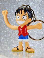 One Piece Figure - Monkey D Luffy Keyring - Banpresto Keychain Anime Promo