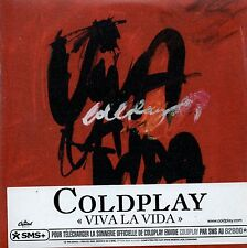 ★☆★ CD SINGLE COLDPLAY Viva la vida CARD SLEEVE 2-track french sticker  NEW ★☆★
