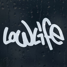 Low Life Car Decal Vinyl Sticker For Bumper Window Panel
