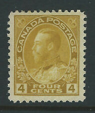 Bigjake: Canada #110, 4 cent King George V