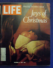vintage LIFE Magazine December 15, 1972 - JOYS OF CHRISTMAS