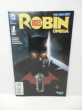 Robin Rises Omega DC New 52 Comic Book #1 Andy Kubert Art Batman Wonder Woman