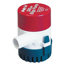 "RULE 25D 500 GPH NON AUTOMATIC BILGE PUMP 3/4"" OUTLET"