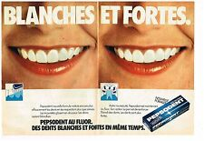 Publicité Advertising 1978 (2 pages) Le Dentifrice Pepsodent