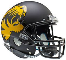 MISSOURI TIGERS BLACK SCHUTT XP FULL SIZE REPLICA FOOTBALL HELMET