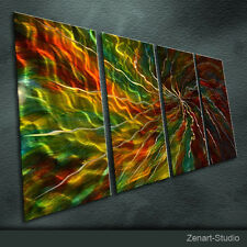 Original Handmade Metal Wall Art Modern Abstract Indoor Outdoor Decor-Zenart