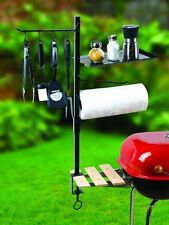 Grill Tools Organizer BBQ Accessory Holder Outdoor Patio Barbecue Cooking Set