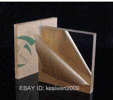 2pcs 297x210x6mm Clear Acrylic Plexiglass Sheet Plastic Panel Perspex A4 Plates