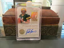 New listing Panini Flawless Gold Autograph Benchmarks Auto Packers Brett Favre  01/10  2014