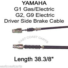 Yamaha G1 Golf Cart or G2, G9 Electric DRIVER SIDE Brake Cable J56-F6341