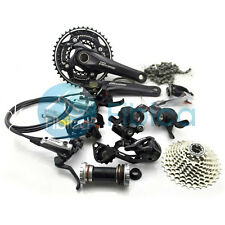 New Shimano Deore M610 Hydraulic Disc Brake Groupset Group set 3x10-speed