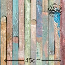45cm Rio planked Madera Adhesiva Vinilo Fablon (200-3196) de 1m a 15m