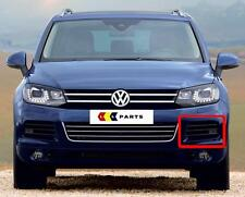 VW TOUAREG 10-14 NEW GENUINE FRONT BUMPER N/S LEFT LOWER PDC GRILL 7P6854661