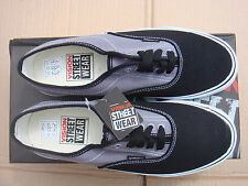 SKATEBOARD GREY/BLACK VISION STREET WEAR CANVAS trainers UK size 7