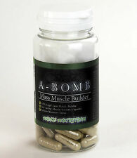 NUKE NUTRITION A-BOMB TESTOSTERONE BOOSTER PILLS MUSCLE MASS GROWTH