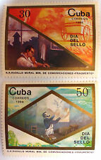 Serie francobolli Havana Correos 1988 Original Complete serie stamps Sellos Mint