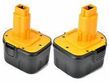 2 NEW 12V 12 VOLT BATTERY FOR DEWALT DC9071 DW9071 DW9072 DW051K DW052K