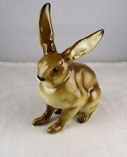 Hutschenreuther Fritz Porcelain Rabbit Figurine