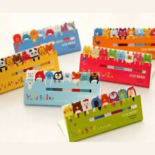 2X 120Page Animal Sticker Post It Bookmark Marker Memo Index Tabs Sticky Notes