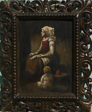 Evert Pieters (Dutch,1856-1932) Original Oil  Painting Signed