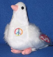 TY SERENITY the PEACE DOVE BEANIE BABY - MINT with MINT TAG