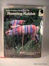 """Running Rabbit"" Sculpture Kit by Yours Truly #2907"