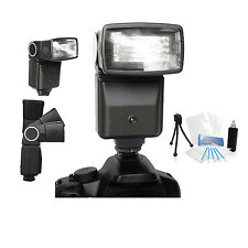 Pro Auto Flash Holiday Bundle for Canon EOS Rebel M SL1 T1i T2i T3 T3i