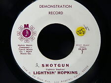 LIGHTNIN HOPKINS Shotgun /hello my lover METRIC MUSIC 7 ( SO714/IM3619 ) PROMO