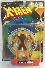 X-Men (Sabertooth with Snarl and Swipe Action figure) 1998