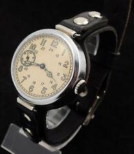 Q1-1947 KIROVSKIE KIROVKA Kirova Russian Soviet watch + handmade leather strap