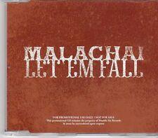 (EK770) Malachai, Let 'Em Fall - 2010 DJ CD