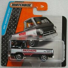 Matchbox Diecast Adventure City 2015 '66 Dodge A100 [ Mothers ] New & Carded