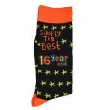 Simply The Best Age 16 Year Old Socks 16th birthday gift present