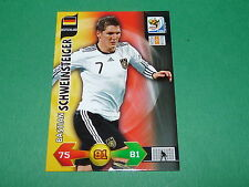 SCHWEINSTEIGER DEUTSCHLAND PANINI FOOTBALL FIFA WORLD CUP 2010 CARD ADRENALYN XL