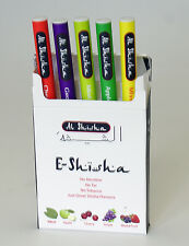 5pk E Shisha Pen Electronic Shisha Sheesha Stick Disposable Pipes Apple Cherry