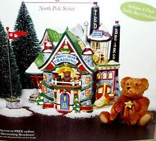 Department 56 Teddy Bear Training Center North Pole Christmas Village with Box