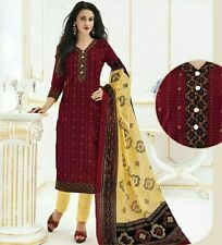 Elegant Cotton Designer Printed Unstitched Dress Material  D.No LS189