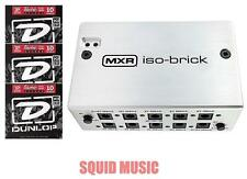 MXR ISO-BRICK M238 POWER SUPPLY w/ DC CABLES & 18V ADAPTER ( 3 FREE STRING SETS)