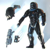 Star Wars 30th Omega Squad Republic Elite  Black Clone Commando w acc #3  1115