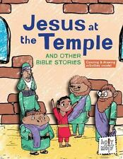 Jesus at the Temple and Other Bible Stories (Holy Moly Bible Storybook-ExLibrary