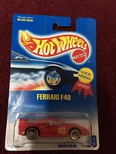 Hot Wheels Ferrari F40 Diecast Car