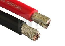 Red 110amp 16mm flexible câble de batterie-conserves conducteurs 1mtr longueur-Marine